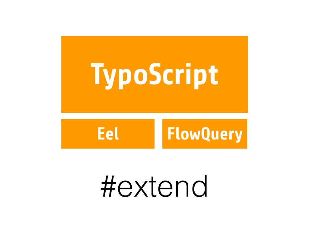 TypoScript Eel FlowQuery #extend