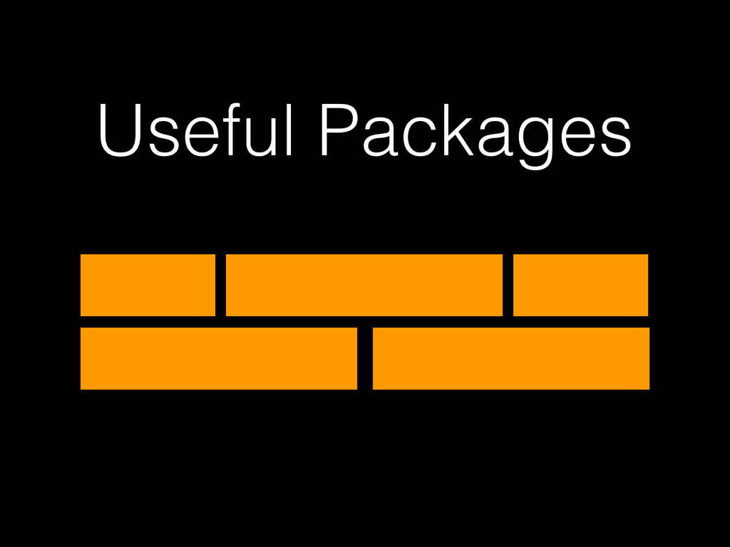Useful Packages
