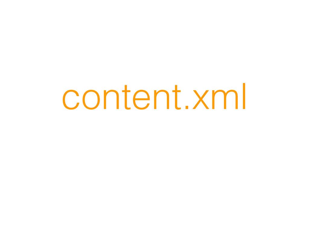 content.xml