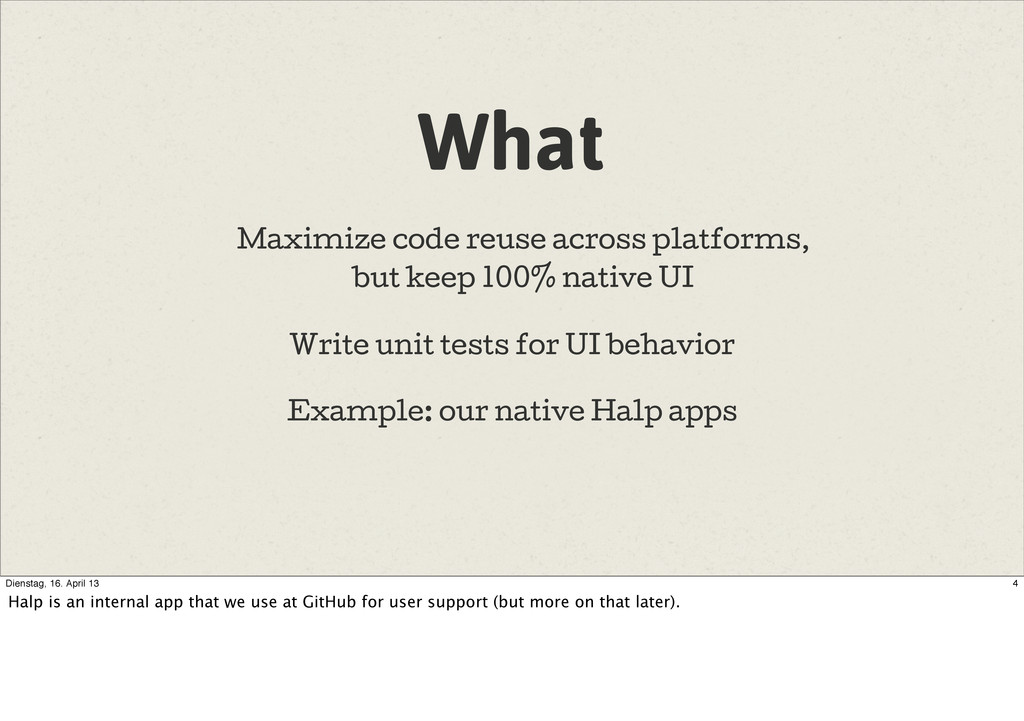 What Write unit tests for UI behavior Example: ...