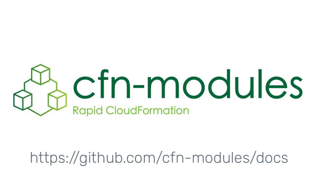 https://github.com/cfn-modules/docs