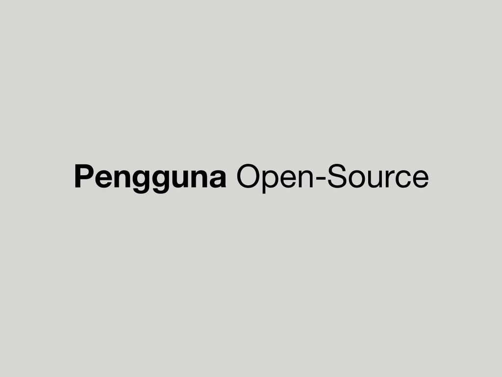 Pengguna Open-Source