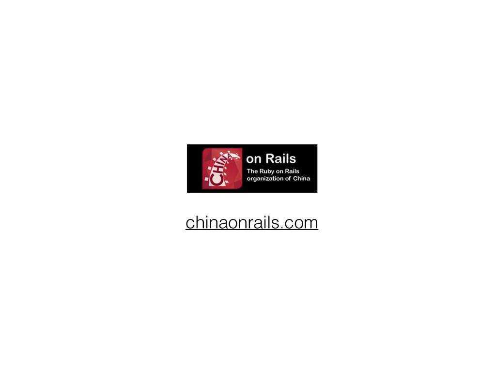 chinaonrails.com