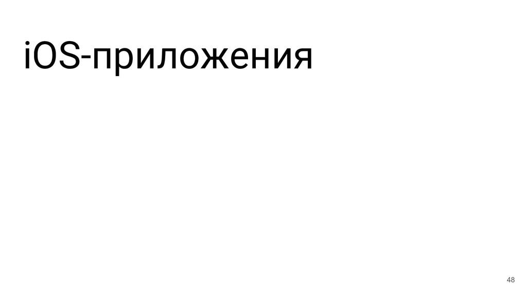 iOS-приложения 48
