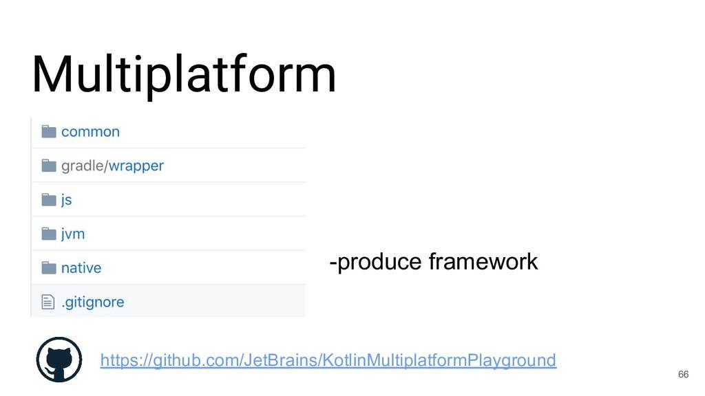 Multiplatform 66 https://github.com/JetBrains/K...