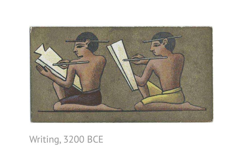 Writing, 3200 BCE