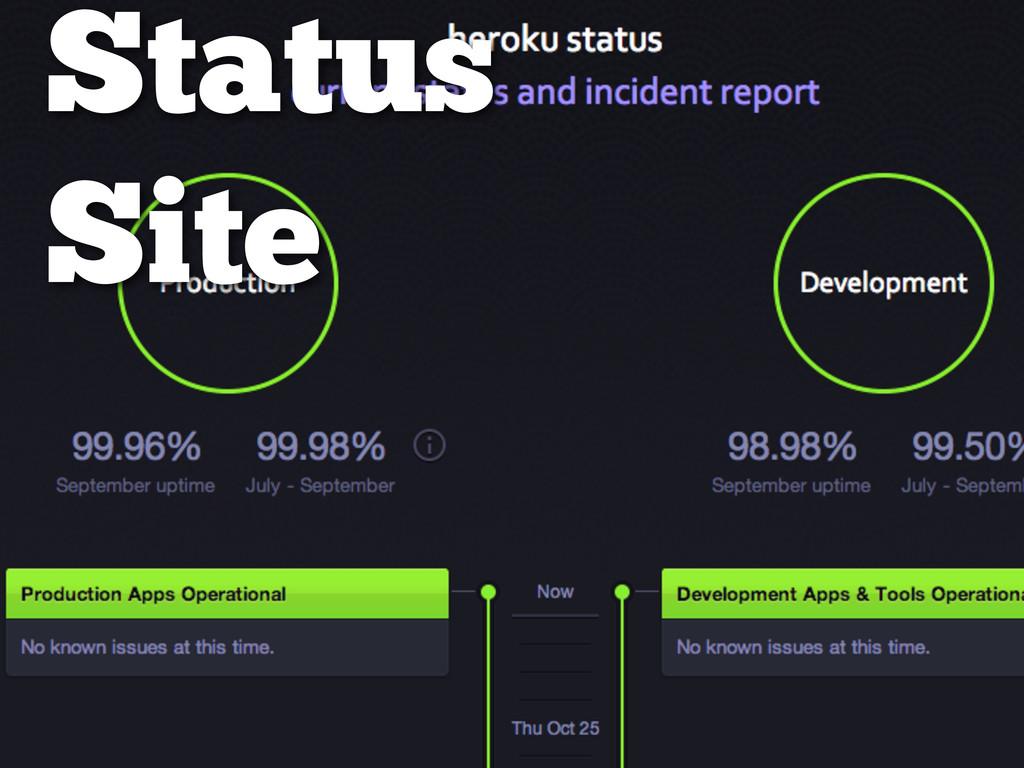 Status Site