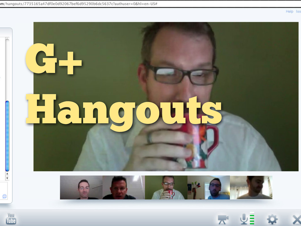 G+ Hangouts