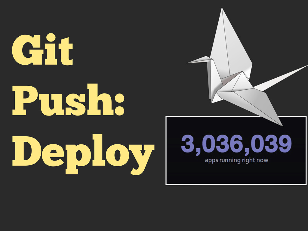 Git Push: Deploy