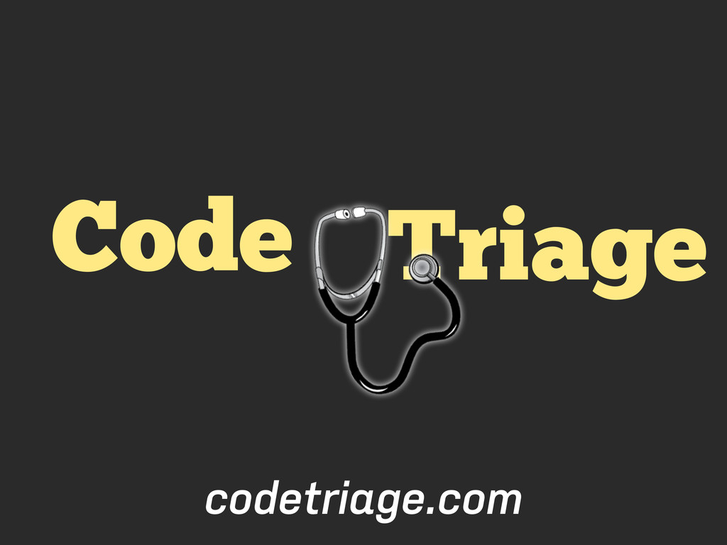 Triage Code codetriage.com
