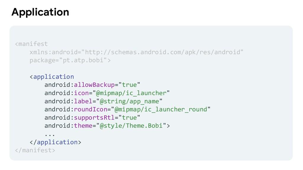 "Application <manifest xmlns:android=""http://sch..."