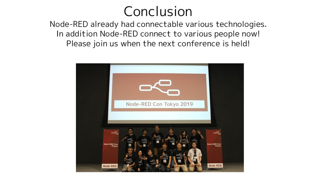 Conclusion Node-RED already had connectable var...