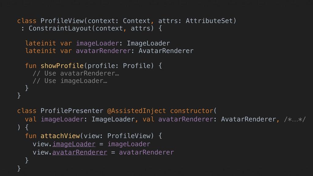 l l class ProfileView(context: Context, attrs: ...