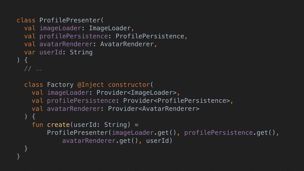 class ProfilePresenter( val imageLoader: ImageL...