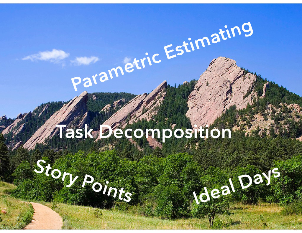 Parametric Estimating Task Decomposition Story ...