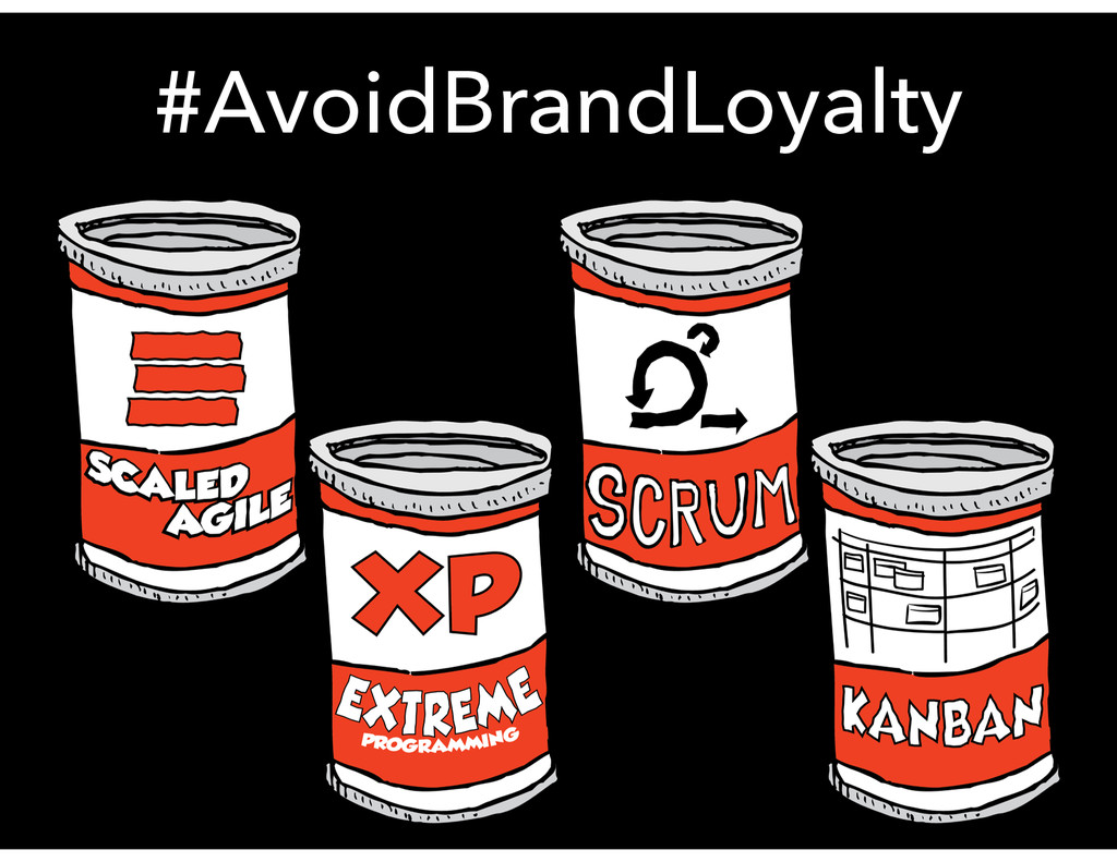 #AvoidBrandLoyalty