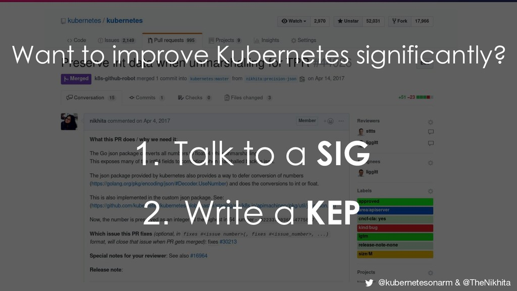Want to improve Kubernetes significantly? 1. Ta...