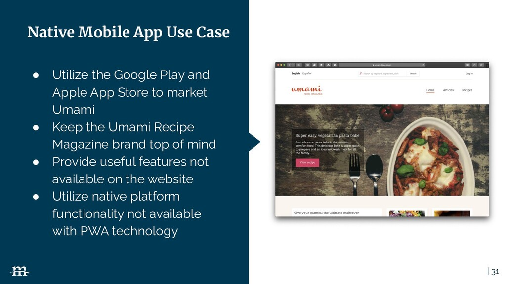 | 31 ● Utilize the Google Play and Apple App St...