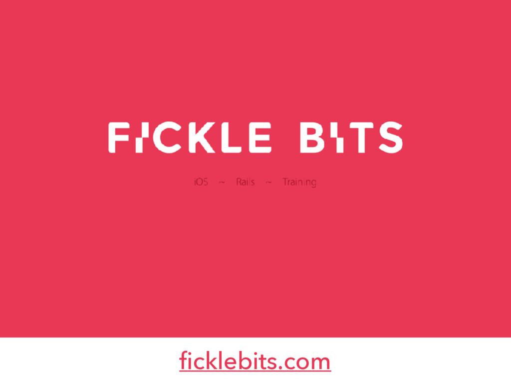ficklebits.com
