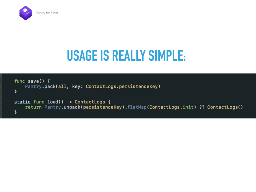 USAGE IS REALLY SIMPLE: