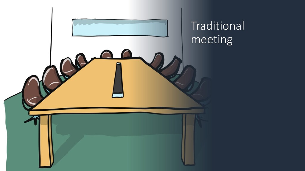 Traditional meeting