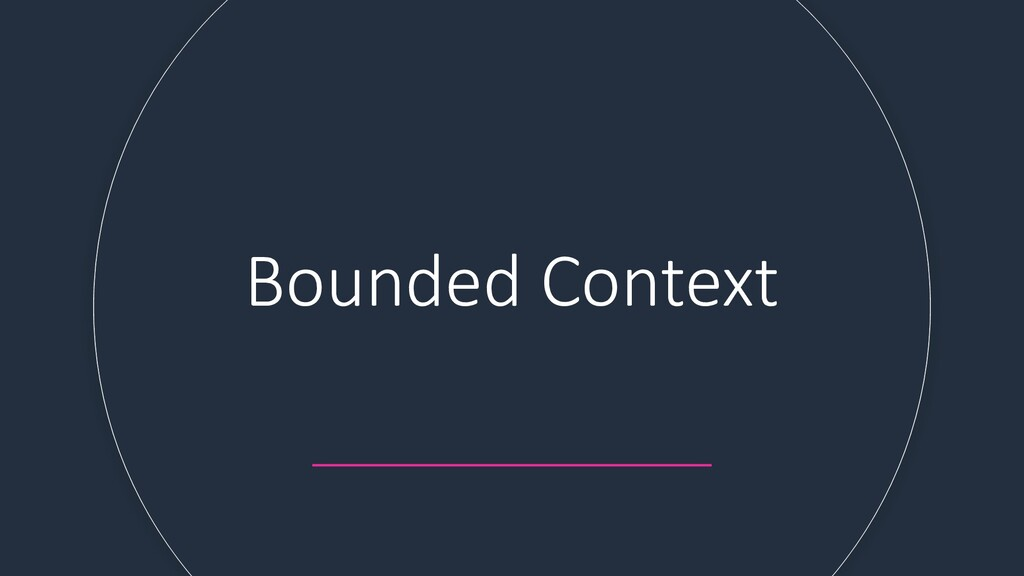 Bounded Context