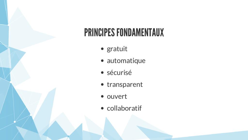 PRINCIPES FONDAMENTAUX gratuit automatique sécu...