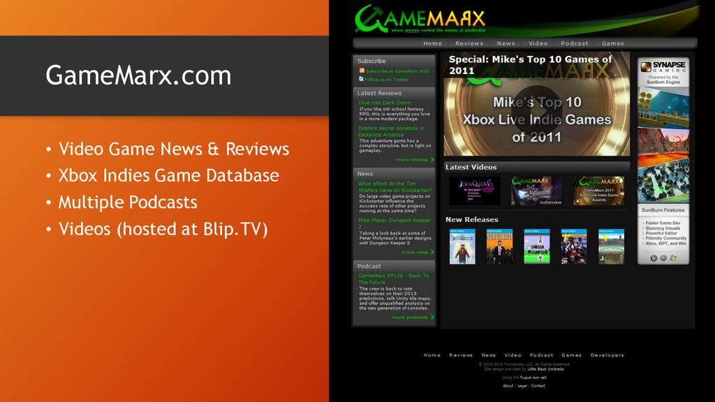 GameMarx.com • Video Game News & Reviews • Xbox...