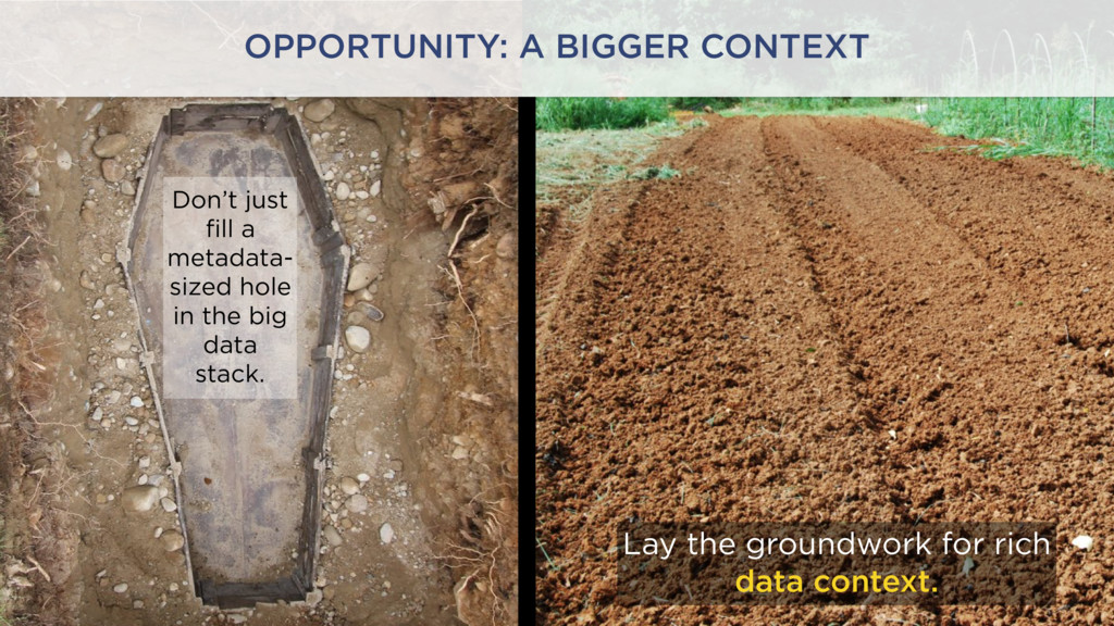 Lay the groundwork for rich