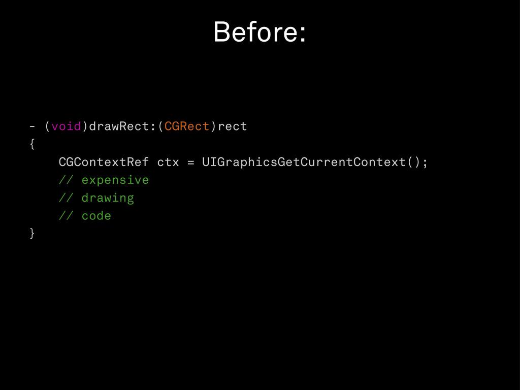 - (void)drawRect:(CGRect)rect { CGContextRef ct...