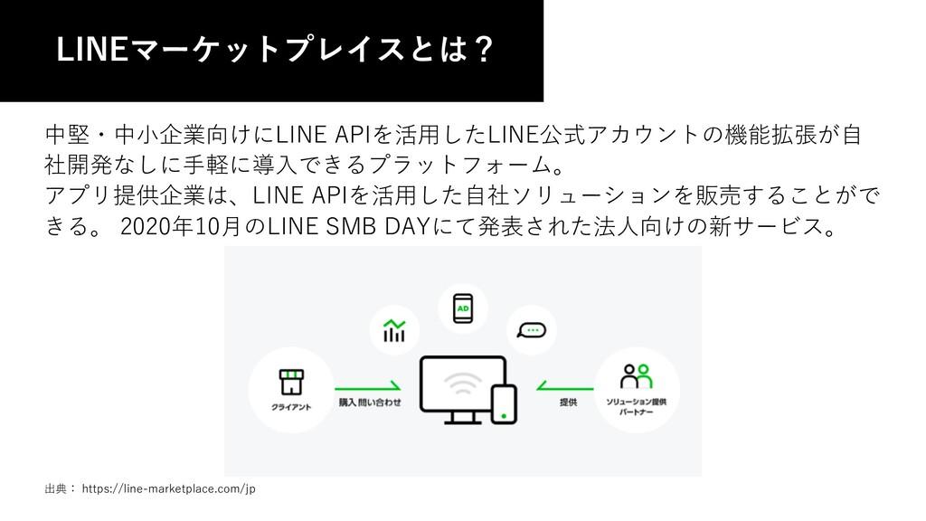 中堅・中⼩企業向けにLINE APIを活⽤したLINE公式アカウントの機能拡張が⾃ 社開発なし...
