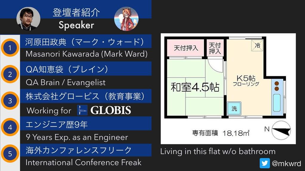 ՏݪాయʢϚʔΫɾΥʔυʣ Masanori Kawarada (Mark Ward) 2...