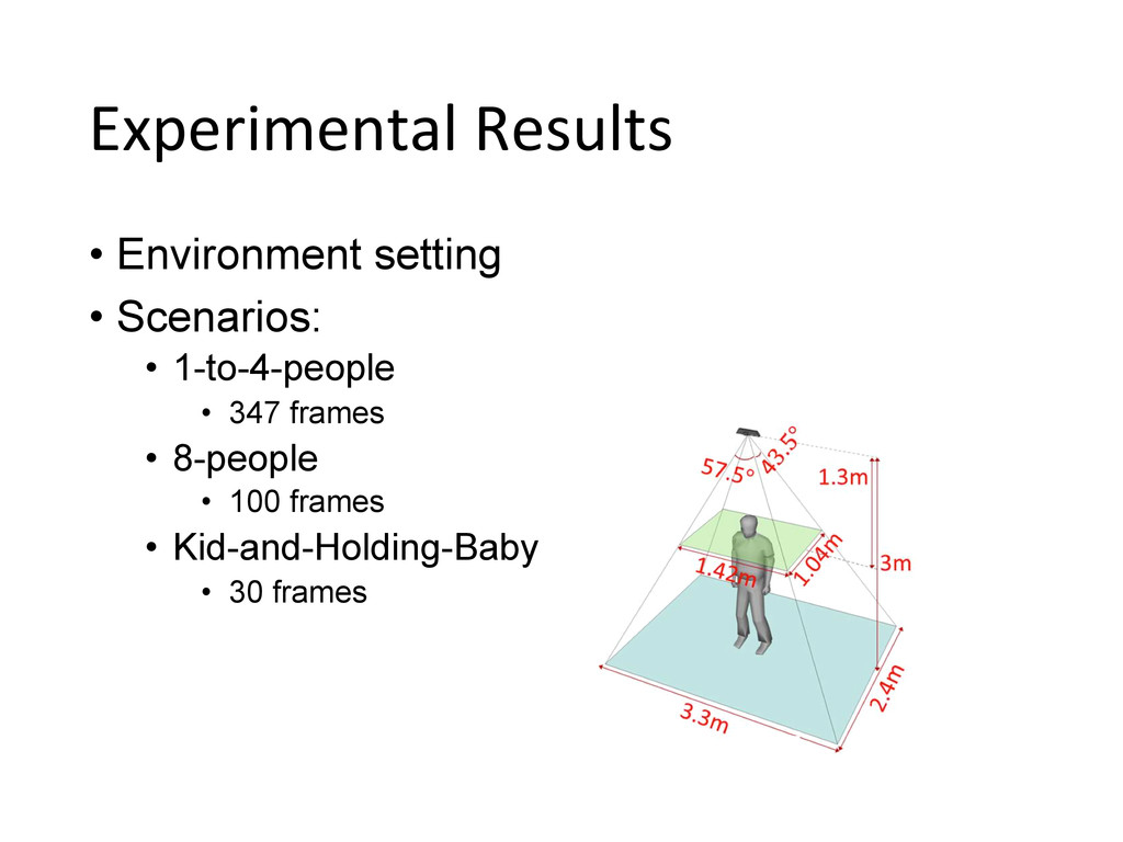 Experimental Results • Environment setting...