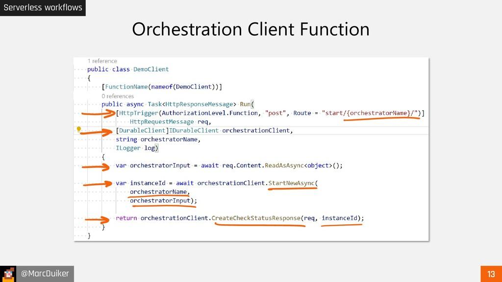 @MarcDuiker Serverless workflows Orchestration ...