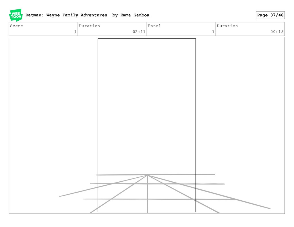 Scene 1 Duration 02:11 Panel 1 Duration 00:18 B...