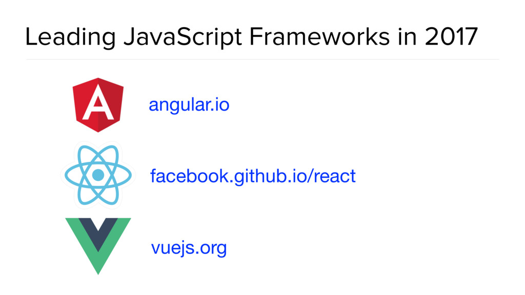 Leading JavaScript Frameworks in 2017 angular.i...
