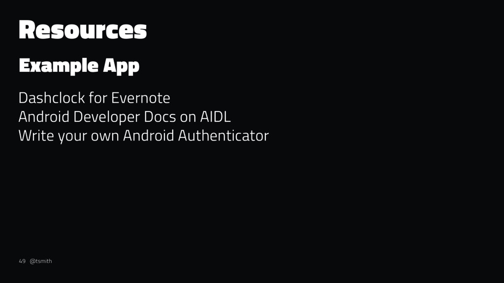 Resources Example App Dashclock for Evernote An...