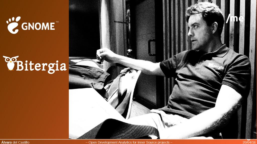 Bitergia Álvaro del Castillo – Open Development...