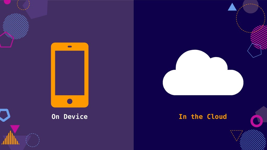 On Device In the Cloud