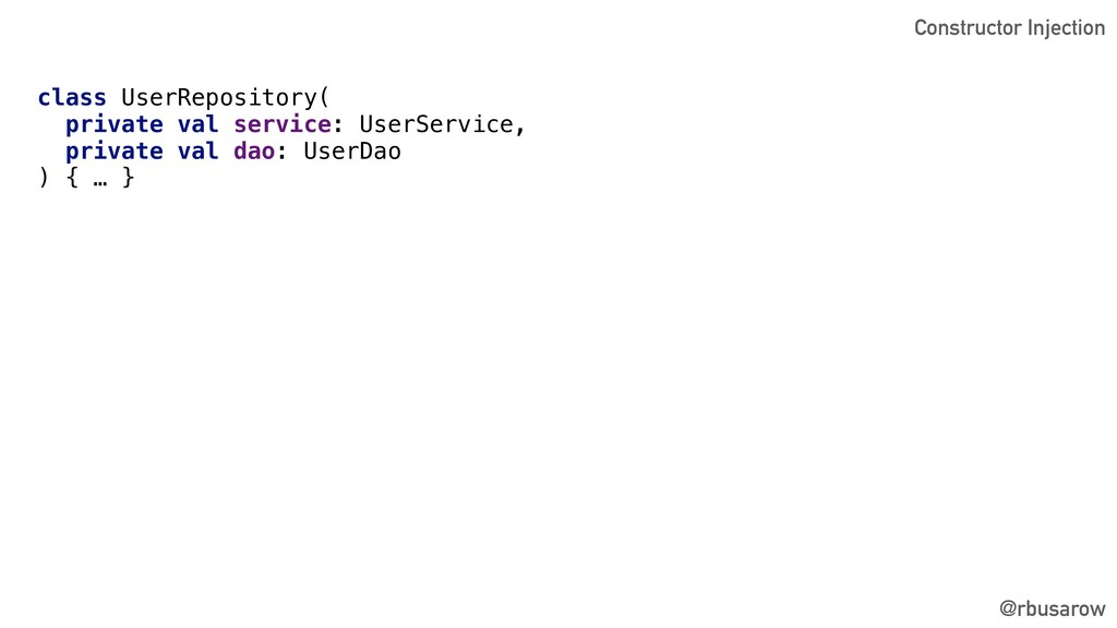 @rbusarow class UserRepository( private val ser...