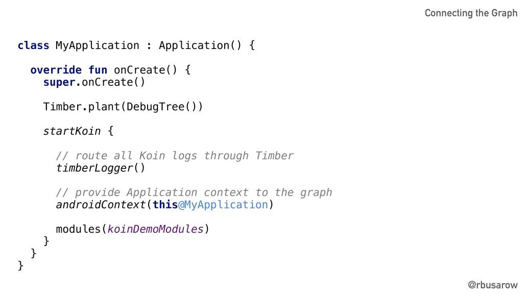 class MyApplication : Application() { override ...