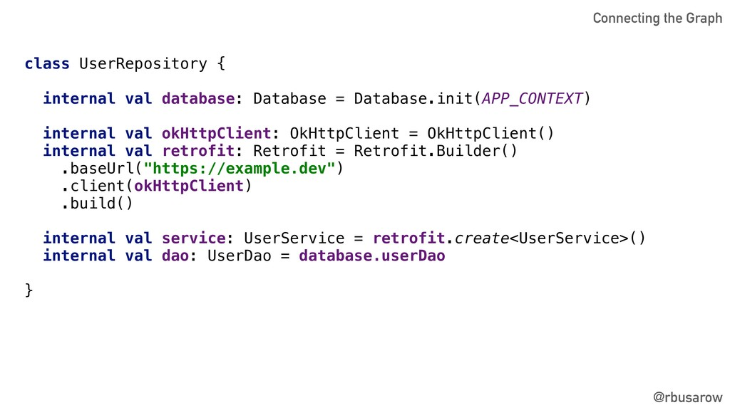 @rbusarow class UserRepository { internal val d...