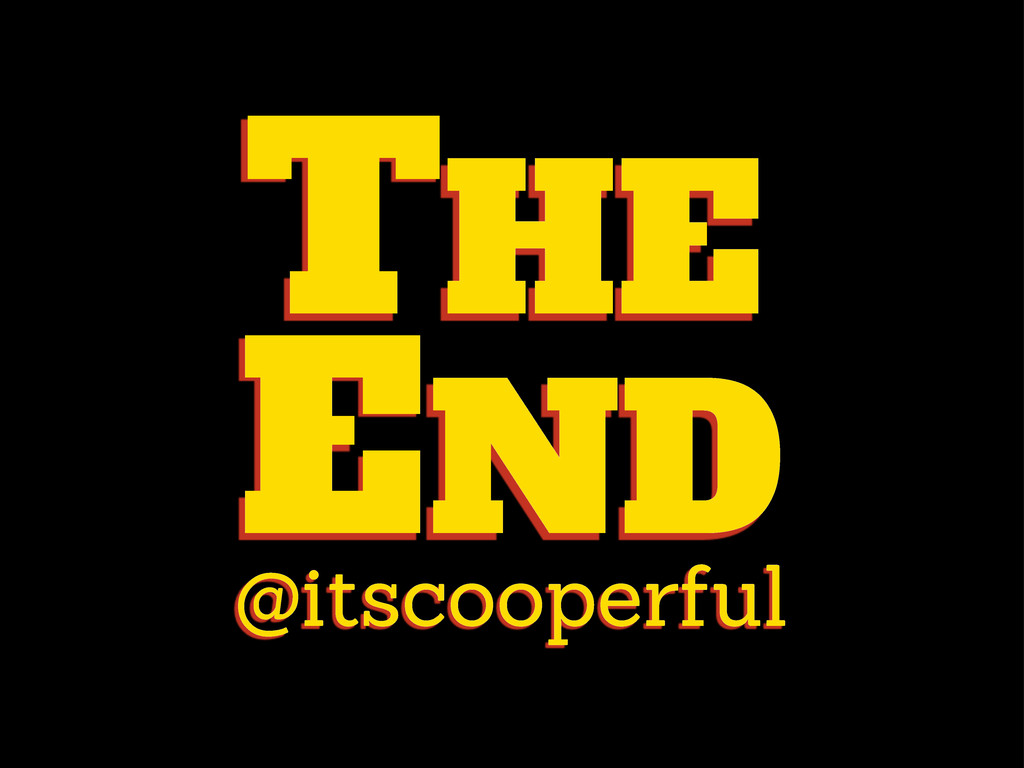 @itscooperful THE END