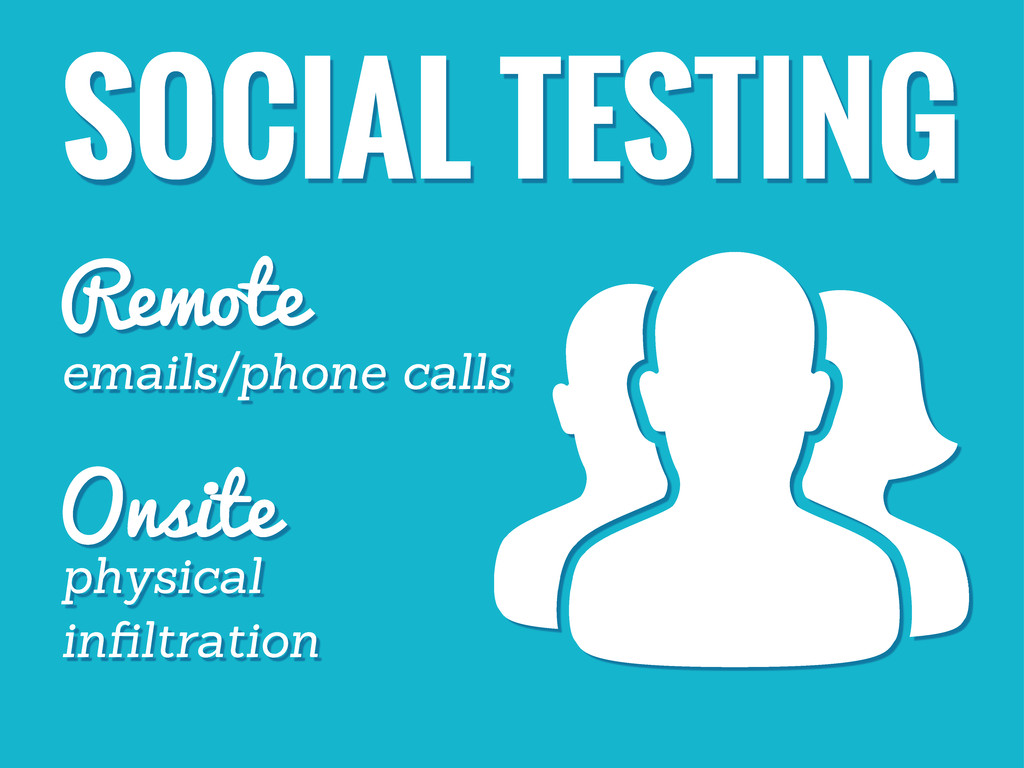 SOCIAL TESTING Remote Onsite emails/phone calls...