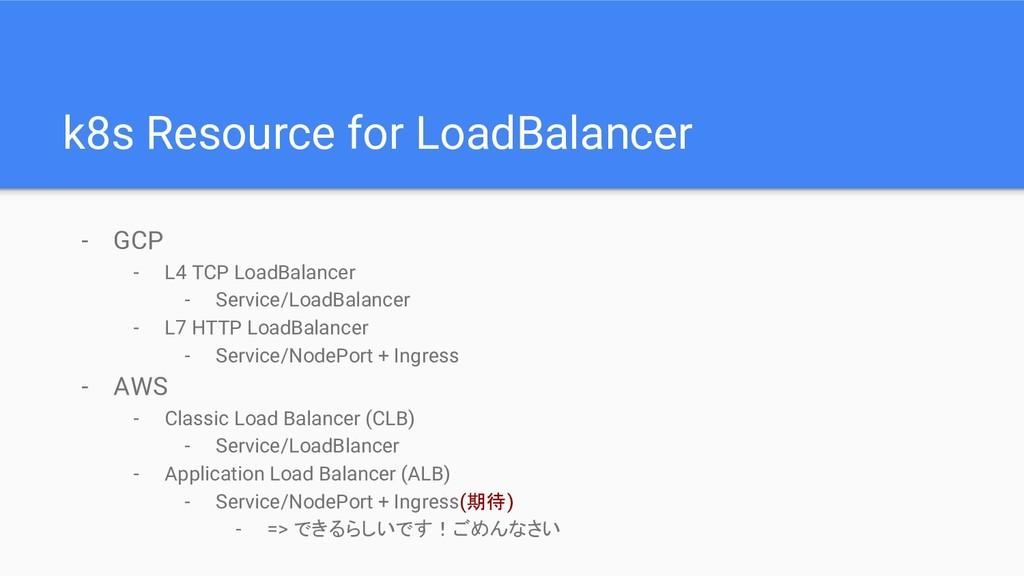- GCP - L4 TCP LoadBalancer - Service/LoadBalan...