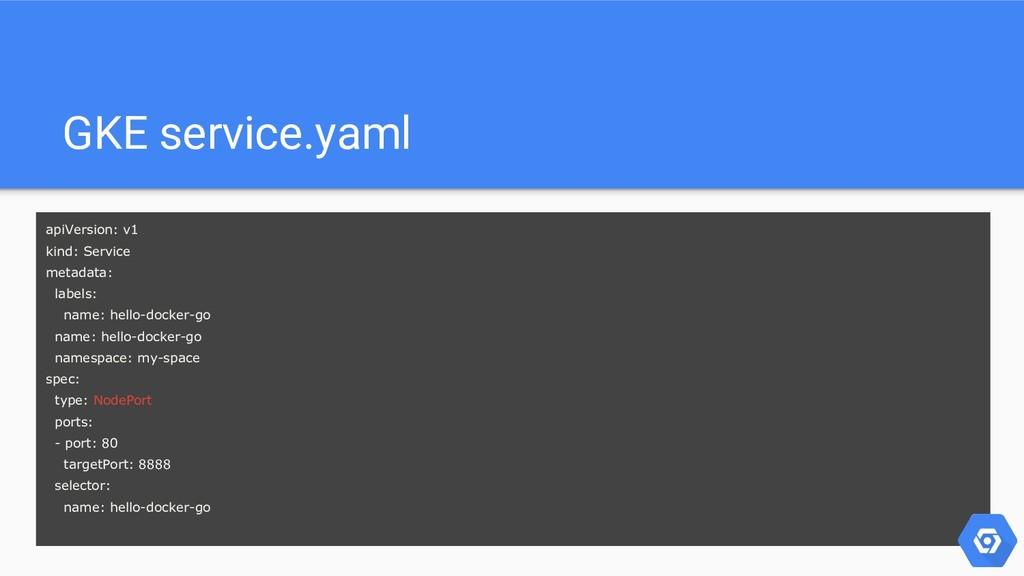 apiVersion: v1 kind: Service metadata: labels: ...