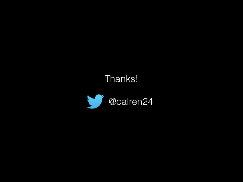 Thanks! @calren24