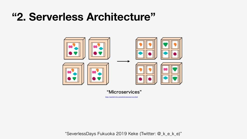 """2. Serverless Architecture"" l.JDSPTFSWJDFTz h..."