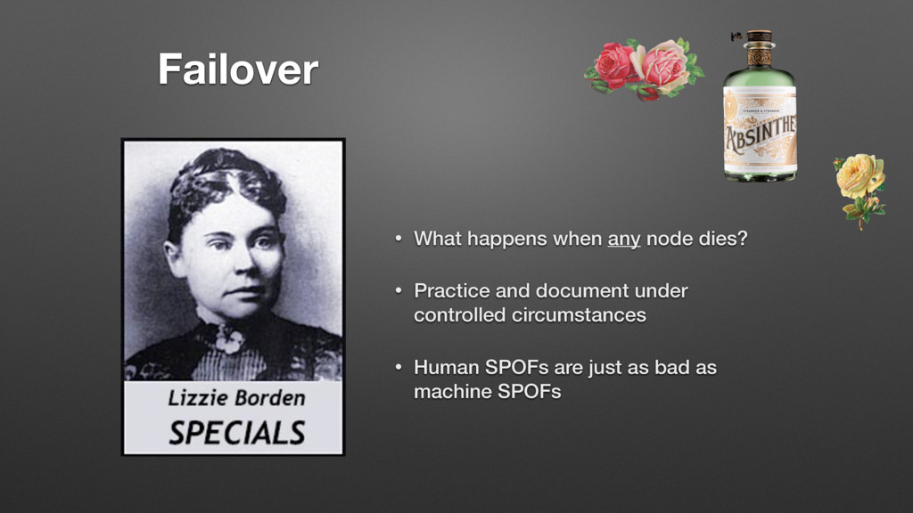 Failover • What happens when any node dies? • P...