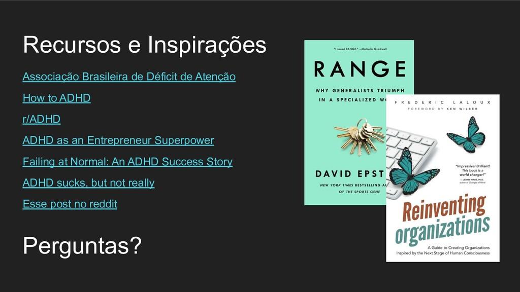 Recursos e Inspirações Associação Brasileira de...